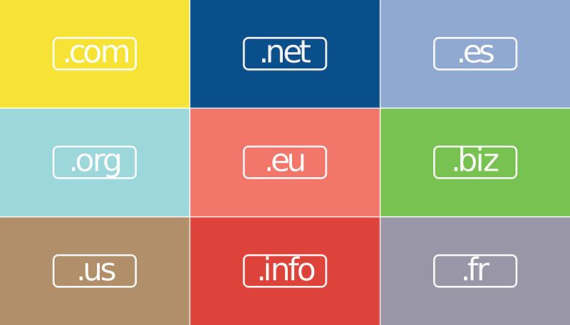 Registracija domene je tesno povezana in odvisna tudi od izbire domenskega imena ter končnice