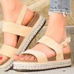Udobni in lepi poletni sandali